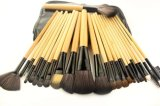 24 щетки состава ручки Orignal косметических инструмента частей портативных деревянных