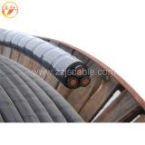 De cuivre/aluminium XLPE a isolé le câble d'alimentation blindé de bande en acier