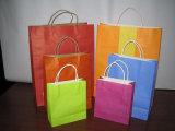 Bolsos de compras de papel promocionales, bolsa del papel de Brown Kraft (HBPB-5)