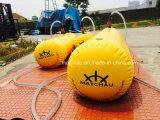 Saco do peso da água do teste de carga da prova do barco salva-vidas