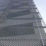 Aluminum perforé Panels avec Rhombic Hollow Patterns Cladding