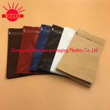 Alle Arten Customzie Kaffee-Beutel mit Ventil u. Zinn-Tae für mit Reißverschluss/Fastfood-/Aluminiumfolie/flache Unterseite/Braunes Packpapier