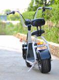 Vespa eléctrica de Citycoco Scrooser Citycoco 2 de la movilidad de la ciudad de las ruedas adultas sin cepillo de Citycoco 500W