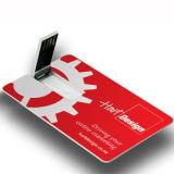 Bastone su ordinazione del USB della carta di credito dell'azionamento dell'istantaneo del USB della scheda di marchio