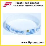Wristband ecologico del silicone del regalo promozionale dell'OEM