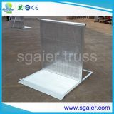 Prix concurrentiel Aluminium Crowd Folding Barriers System pour Event Protect