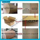 Qualitäts-gutes Draht-Braunes Packpapier u. runzelnde Papierherstellung-Maschine