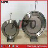 Nipoのウエファーのタイプ単一の版の振動小切手弁