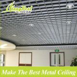 10 ans d'expérience Pop Aluminium cellules ouvertes Grille plafond pour la station et Supermarché