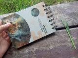 Bloc - notes en spirale du cahier 64k de Fil-o de livre À couverture dure de qualité