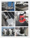 CNC de alta velocidad 3D que talla la máquina para la puerta de los muebles