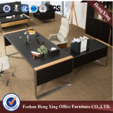 Metal Leg Hx-6m070のL Shape Melamine Executive Desk
