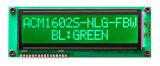 FSTN 16 x 2 Zeichen LCD-Bildschirmanzeige-Baugruppe: Acm1602s-Fla-Fbw