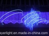 Usager de vacances de décoration de lumière de glaçon de lumière de cascade à écriture ligne par ligne de DEL