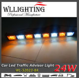 LED Warning Light、Car Signal Light Bar AmberまたはWhite