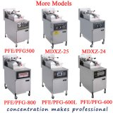 Pfe-600L 최신 판매 다기능 전기/가스/디젤 엔진 Kfc 압력 프라이팬