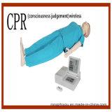 Manequim médico avançado dos cuidados do treinamento do CPR da alta qualidade