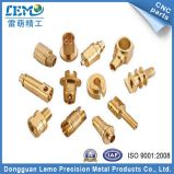 고급장교 또는 Copper Electrolytic Polishing Pecision CNC Turining Parts Under Electronic Industry/Home Appliances