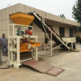 Máquina oca semiautomática do tijolo com grande saída