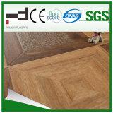 Plancher stratifié par boucle moyenne de la décoration V de maison de parquet de foulage