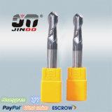 CNC工作機械用超硬ソリッド2フルートボールノーズエンドミル