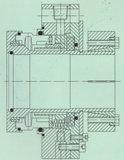 Selo mecânico da única extremidade (Hz3)