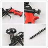 L'outil de construction de qualité utilisé dans le bâtiment appelle le pistolet de mousse de teflon