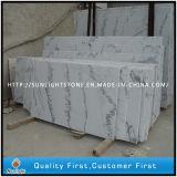 Pavimento di marmo bianco della Cina Guangxi che pavimenta le mattonelle per la stanza da bagno decorativa