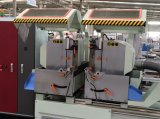 アルミニウムプロフィールCNC制御倍の留め釘切断は機械を見た