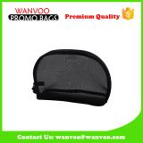 Vente en gros Black Nylon Net Cosmetic Pouch Bag