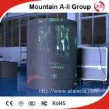 El panel redondo al aire libre de la alta calidad P10 LED TV