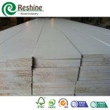Moldeado de madera preparado blanco de la decoración interior