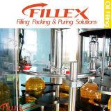 Máquina de rellenar del aceite de cocina de la botella de Plasitic