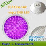 LF-PAR56-18W (5050SMD) IP68 het Plastic OnderwaterLicht van de Pool AC12V