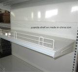 Élément d'aménagement de gondole d'étagère de supermarché