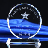 高級なギフト賞の顧客用水晶トロフィのコップ