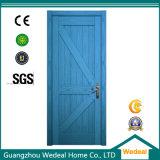 Porta de madeira contínua do melhor painel da qualidade único para o projeto (WDP5045)
