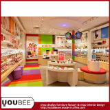 Shopping Mall Kiosk에 있는 사랑스러운 Wooden Children Shoes Display Furniture