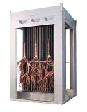 """Cambista de calor inoxidável """"cristalização da placa 304 de aço do cambista de calor da recuperação de calor Waste do inseticida """""""
