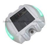 6PCS LED blinkender Solarkatzenauge-Straßen-Stift