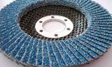 파란 산화지르코늄 플랩 디스크