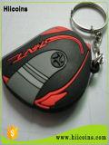 Trousseau de clés animal en gros et fait sur commande de trousseau de clés en caoutchouc de trousseau de clés de vente directe d'usine