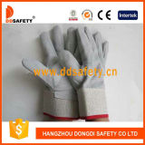 Ddsafety 2017 Cow Split All of Leather on Palm and Back Glove