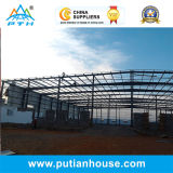 Bâtiment galvanisé par coût bas préfabriqué de structure métallique