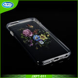 Design extravagante Custom TPU Mobile Phone Caso para o iPhone 6 Crystal - Caso desobstruído