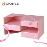 Изготовленный на заказ коробка бумажной доски печатание твердая упаковывая для подарков
