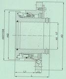 Sortierende mechanische Dichtung treffen auf Kraftwerk zu (HT5)