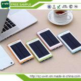 Banco universal da potência solar do Portable 10000mAh impermeável