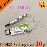 Clé de mémoire USB en métal de logo de lettre personnalisée exceptionnelle/caractère (YT-1803L)