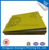 Коробка пиццы отбеленной бумаги Kraft Corrugated складная